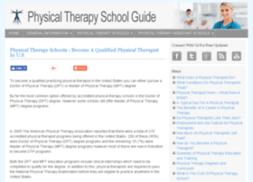 physicaltherapyschoolsite.com