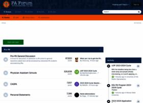 physicianassistantforum.com
