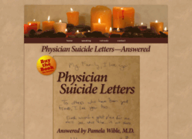 physiciansuicidelettersanswered.com