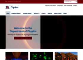 physics.arizona.edu