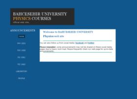 physics.bahcesehir.edu.tr