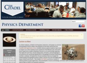 physics.citadel.edu