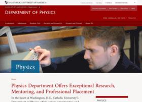 physics.cua.edu
