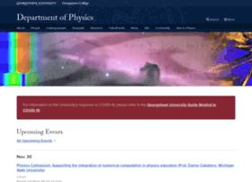 physics.georgetown.edu