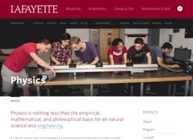 physics.lafayette.edu