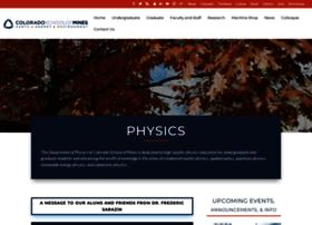 physics.mines.edu