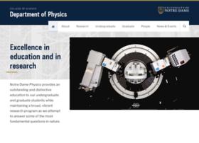 physics.nd.edu