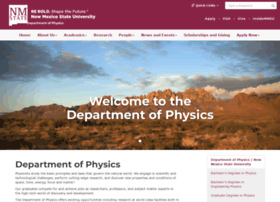 physics.nmsu.edu