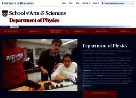physics.richmond.edu