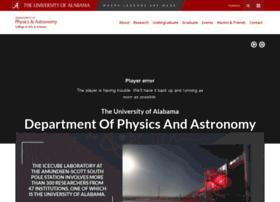 physics.ua.edu