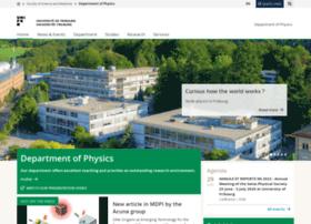 physics.unifr.ch