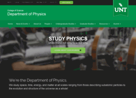 physics.unt.edu