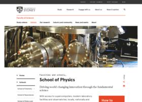 physics.usyd.edu.au