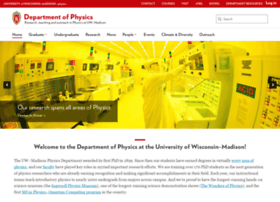 physics.wisc.edu