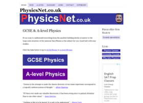 physicsnet.co.uk