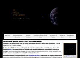 physicsoftheuniverse.com