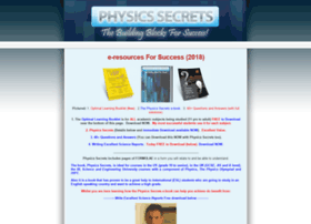physicssecrets.com
