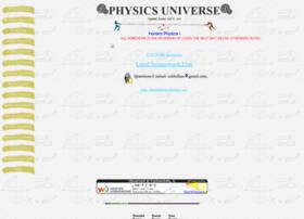 physicsuniverse.com