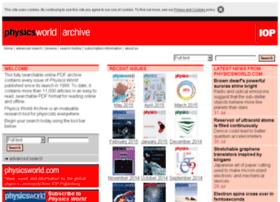 physicsworldarchive.iop.org