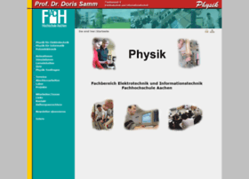 physik.fh-aachen.de