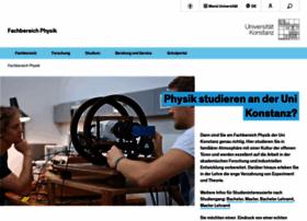 physik.uni-konstanz.de
