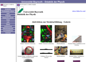 physikdidaktik.uni-bayreuth.de