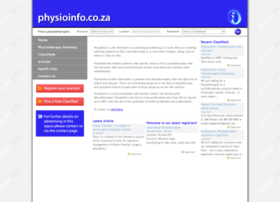 physioinfo.co.za