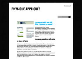 physique-appliquee.net