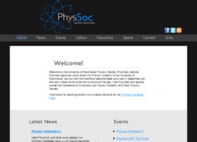 physsoc.manchester.ac.uk