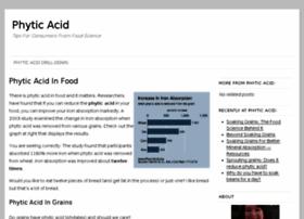phyticacid.org