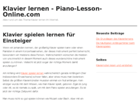 piano-lesson-online.com