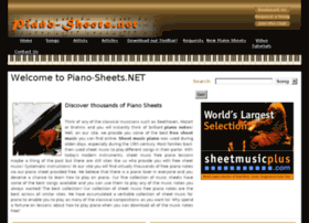 piano-sheets.net