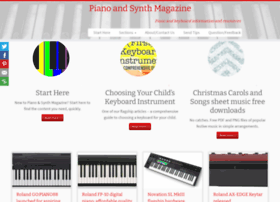 pianoandsynth.com