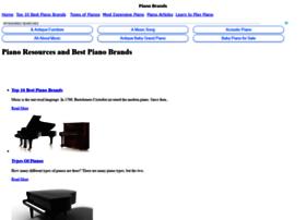 pianobrands.info