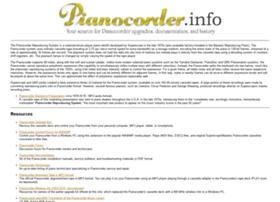pianocorder.info