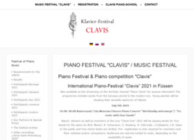pianofestival-clavis.com
