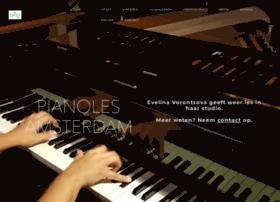pianoles-amsterdam.com
