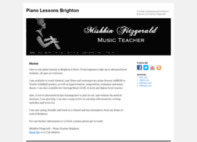 pianolessonsinbrighton.co.uk
