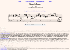 pianolibrary.org