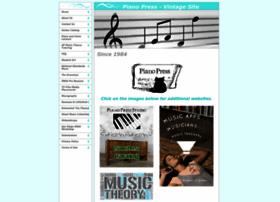 pianopress.com
