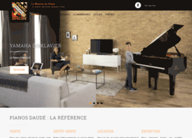 pianos-daude.com
