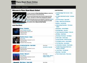 pianosheetmusiconline.com