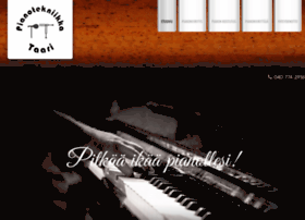 pianotekniikka.com