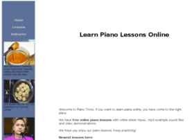 pianotricks.com