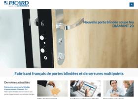 picard-serrures.com