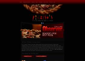 picassospizza.com