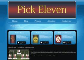pick-eleven.com