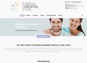 pickeringparkwaydental.com