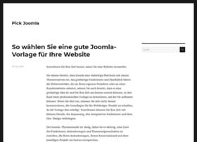pickjoomla.com