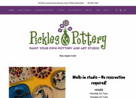 picklesandpottery.com